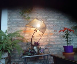 BELLE EPOQUE SIDE LAMP FROM SCRAP
