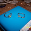 Handyman's Valentine gift - Screw-Nut rings pair - Home made in 15 mins