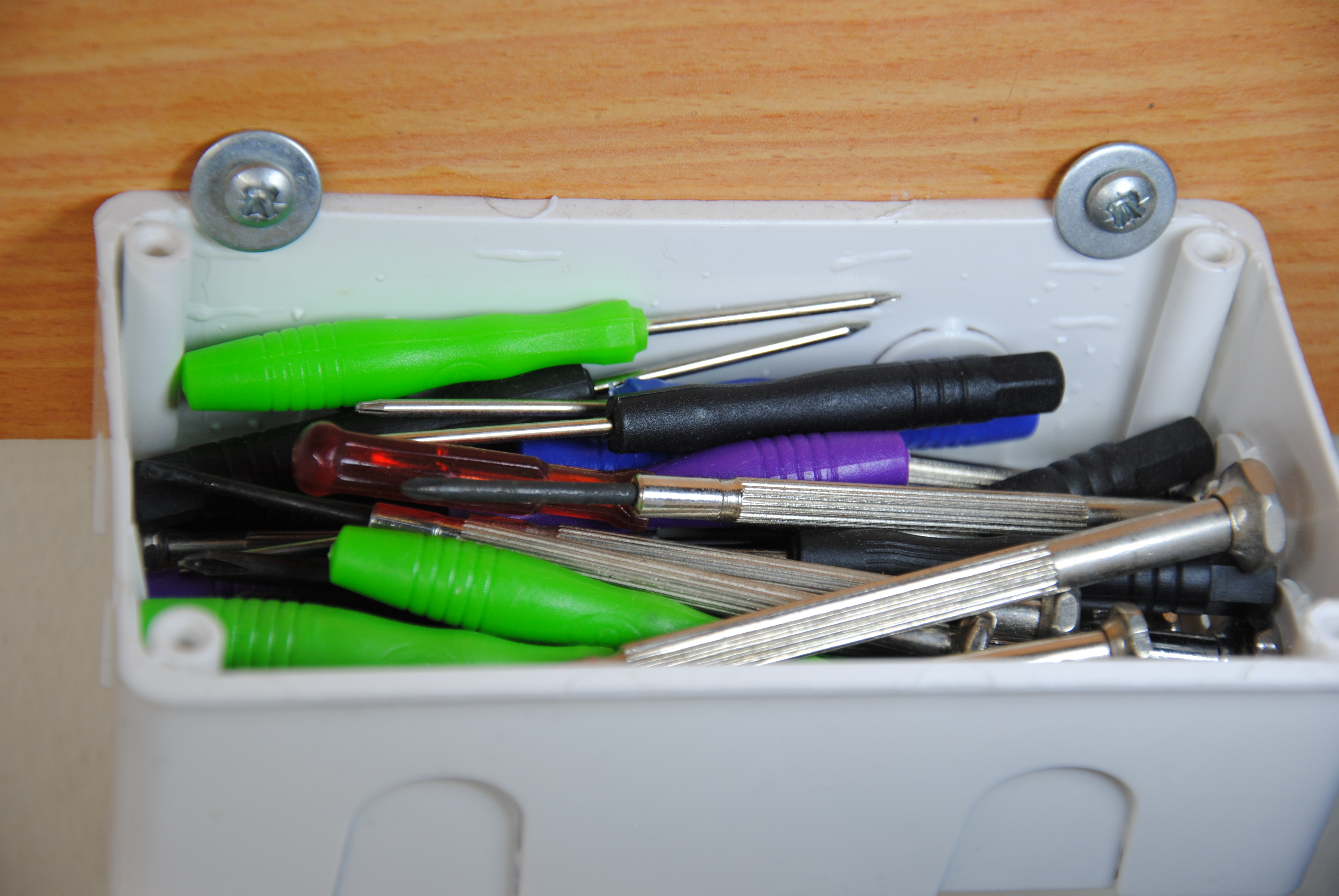 Picture of Container Tool Storage!