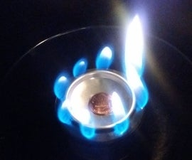 10-Minute Pop-Can Penny Stove