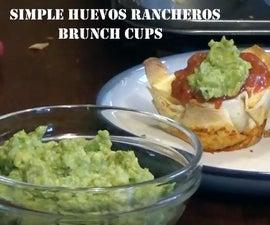 Simple Huevos Rancheros Brunch Cups