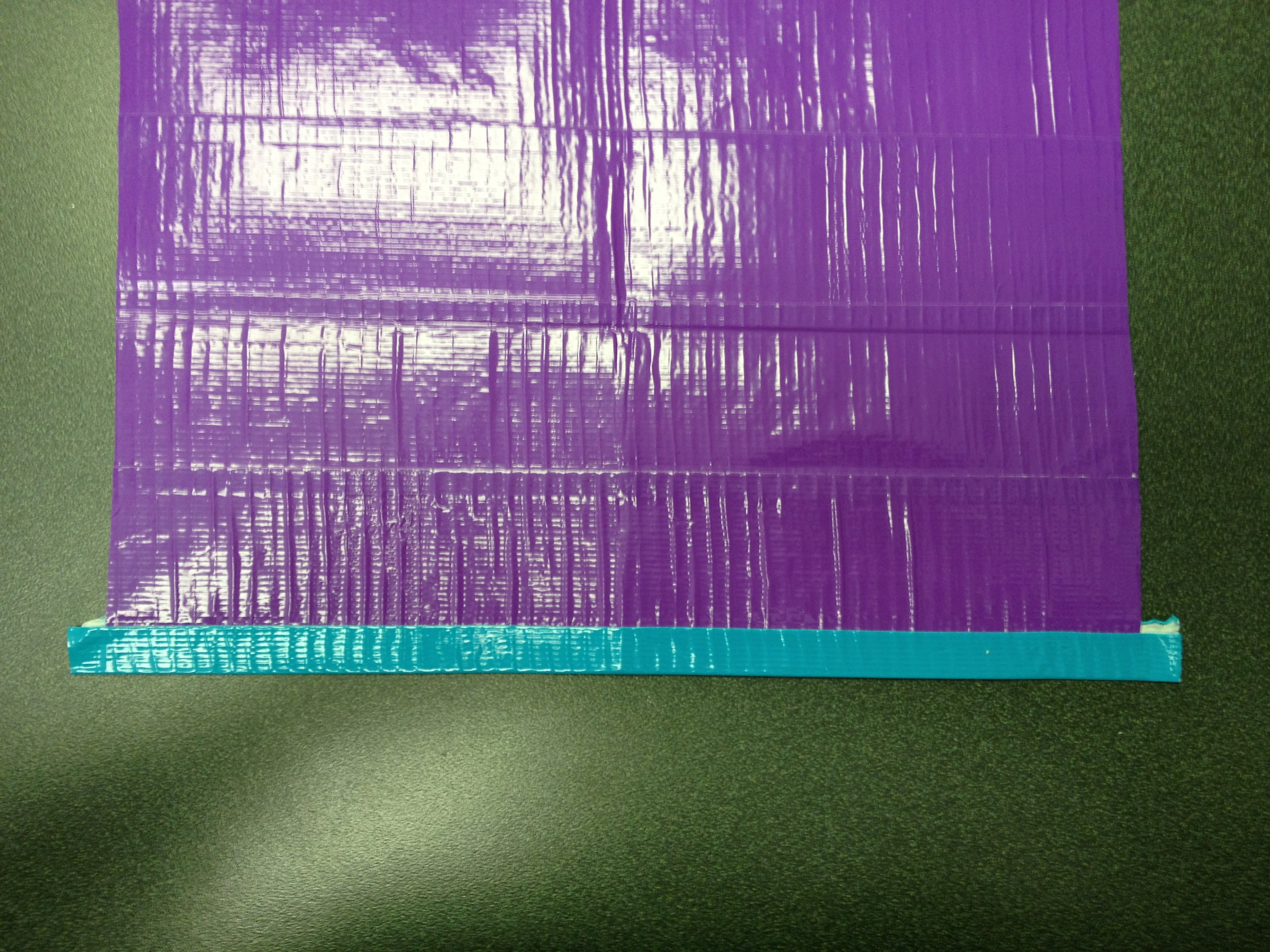 Picture of Create a Piece of Duct Tape Fabric