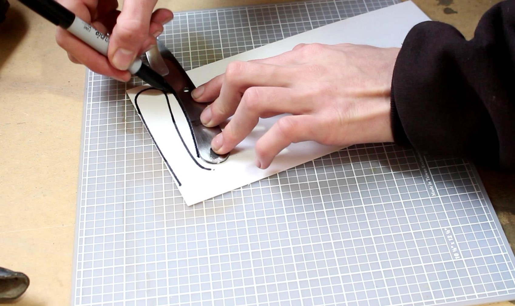 Picture of Cutting Spacer Material