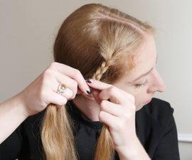 绝对初学者的头发编织