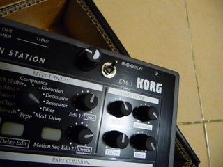 How to Install a LTC1799 Precision Oscillator in a Korg EM-1 Electribe