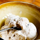 Homemade ice cream without an ice cream machine! Coffee Flavor
