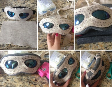 Making the Goggles, Staff, Gloves, and Boots