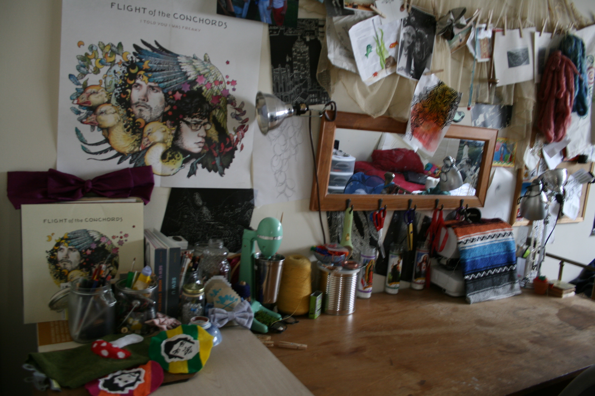 Picture of Organized Chaos, Aka, My Craft Space