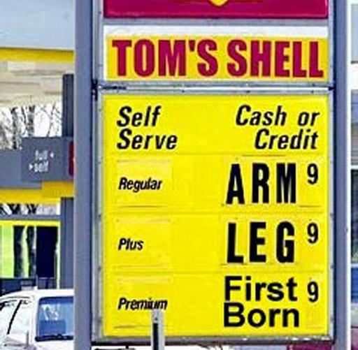 Picture of A Case Study in Gasoline Use