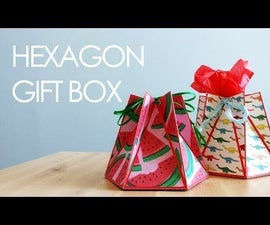 DIY Hexagon Gift Box