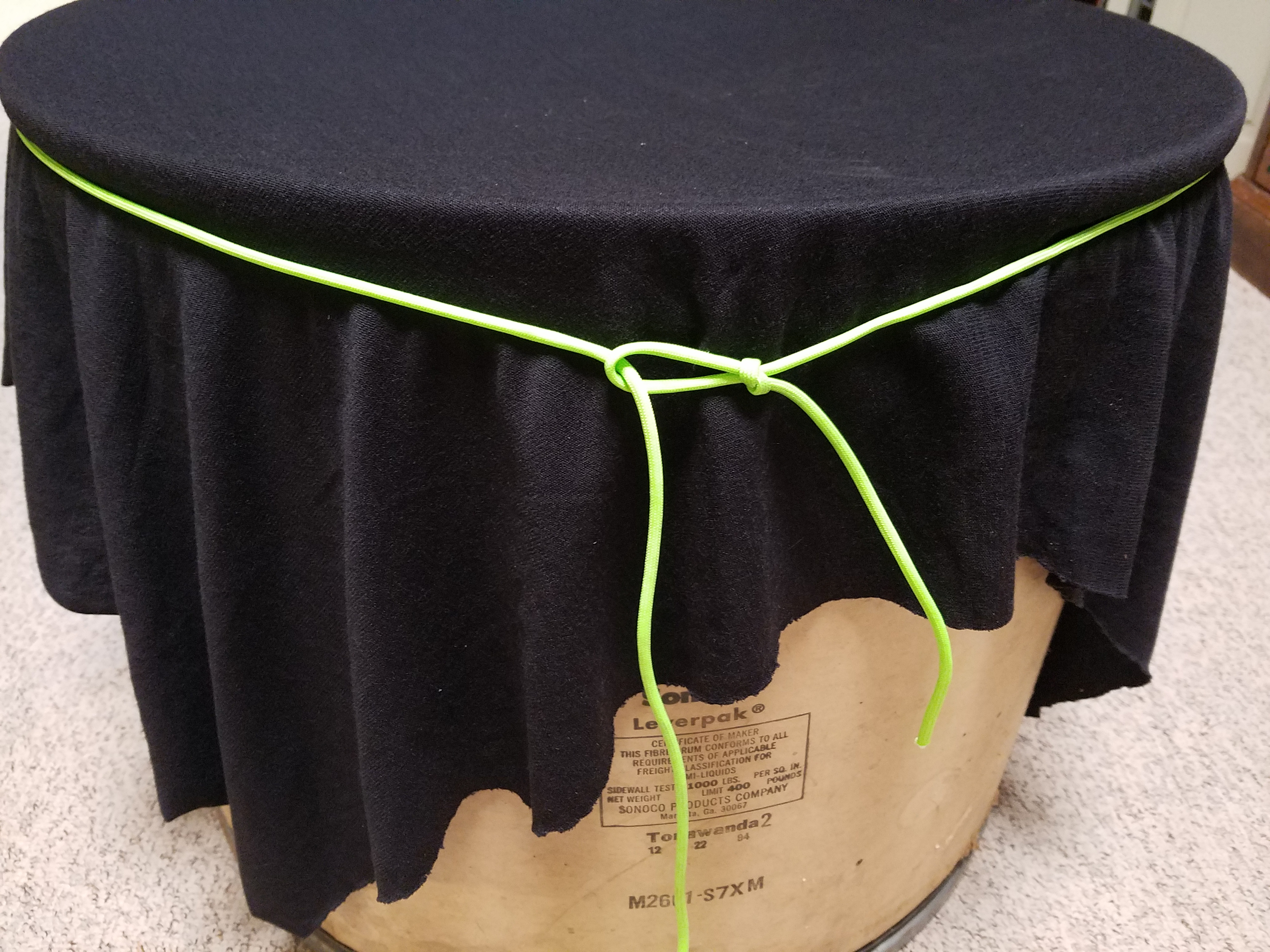 Picture of Attaching the Fabric