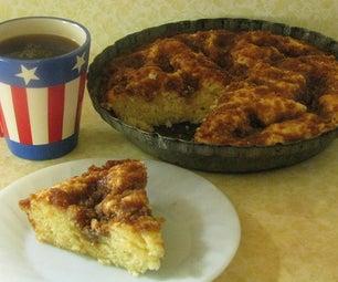 Brown Sugar & Sour Cream Coffee Cake
