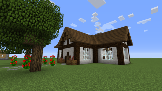 Minecraft Cottage 6 Steps Instructables