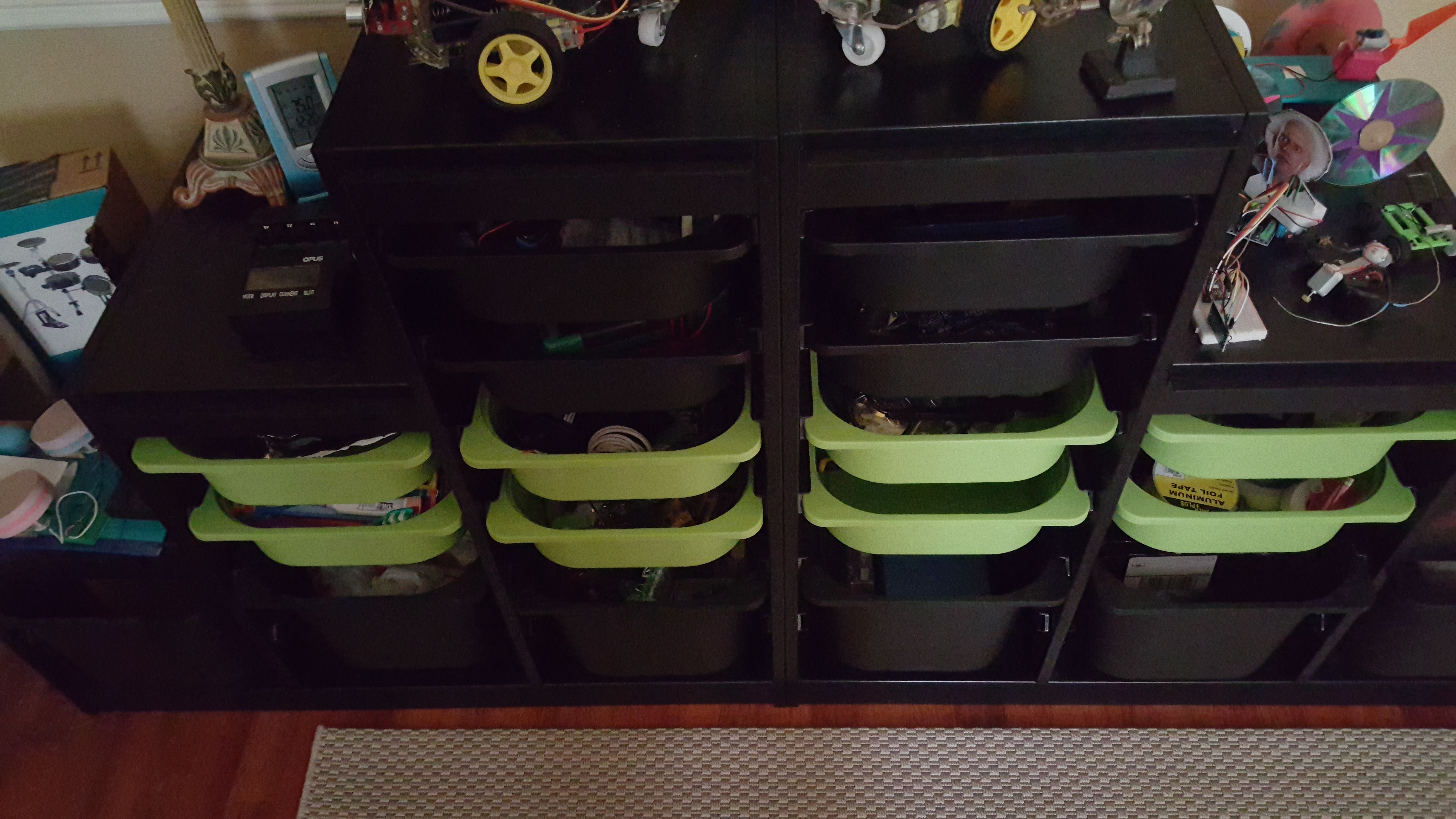 Picture of Build Extendable LED Lights to Make a Great Storage System