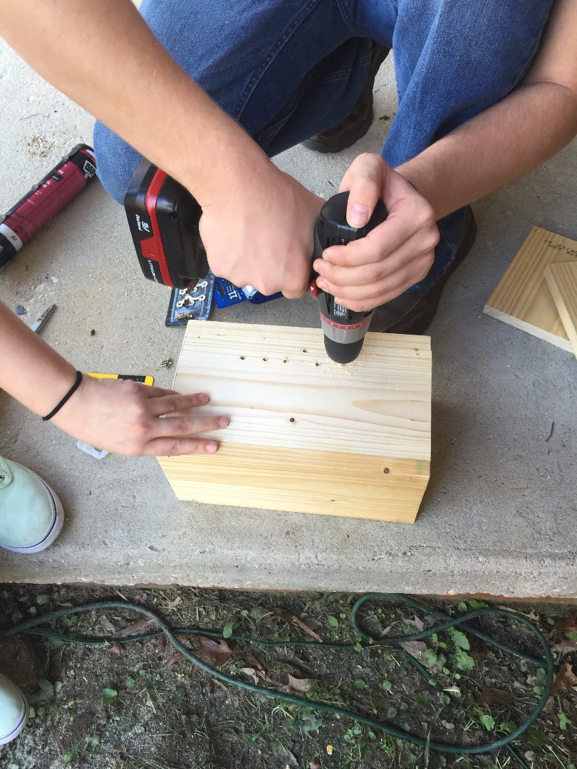 Picture of Making the Casing