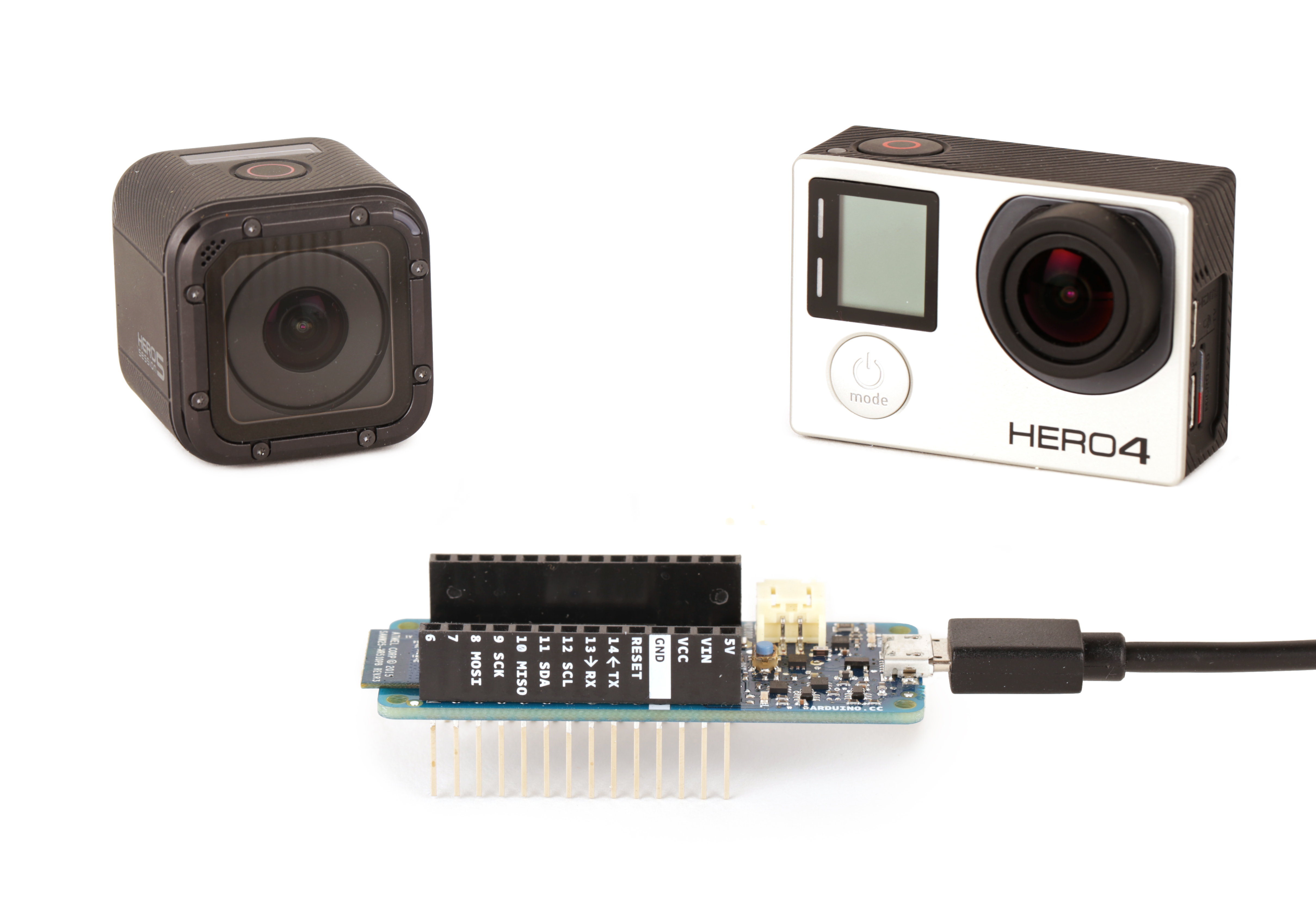 Picture of Arduino GoPro Wifi Control