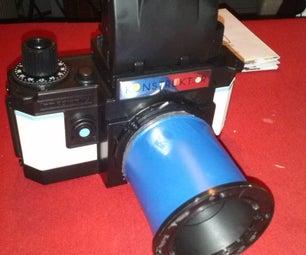 Simple Macro Lens for Lomo Kontruktor!