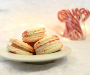 Peppermint Candy Macarons   Josh Pan
