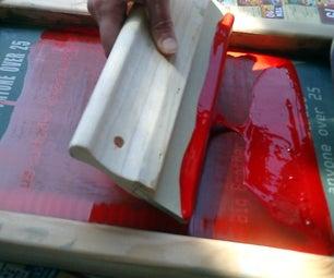 Photo-emulsion Screen Printing