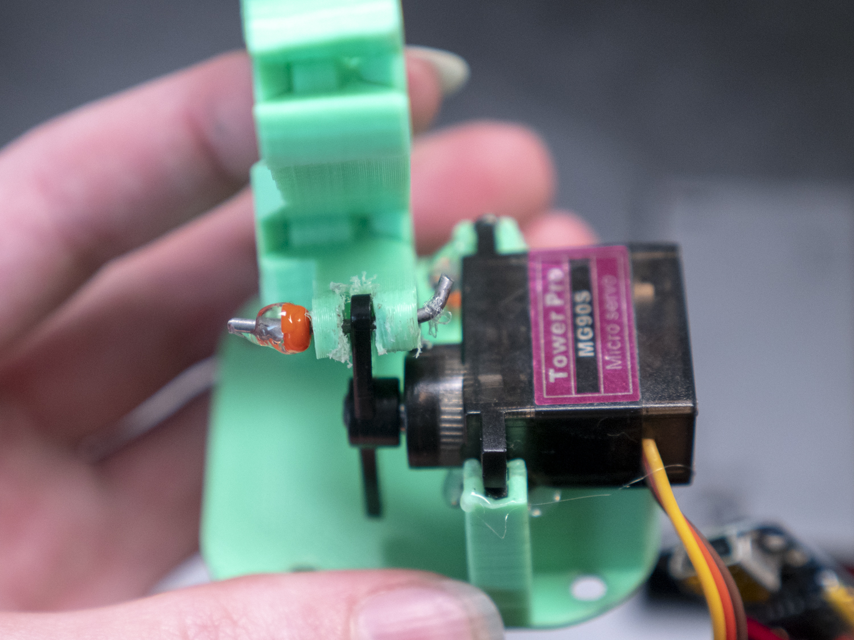 Picture of Assemble 3D & Servo Mechanism