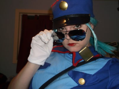 Officer Jenny Cosplay (How to Alter an Existing Pattern for Cosplay)