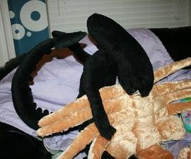 Alien Facehugger Pillow Pet