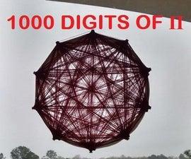 Pi Chart - Visual Art of 1000 Digits