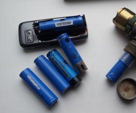 18650 Battery Powered Emergency/Survival Phone