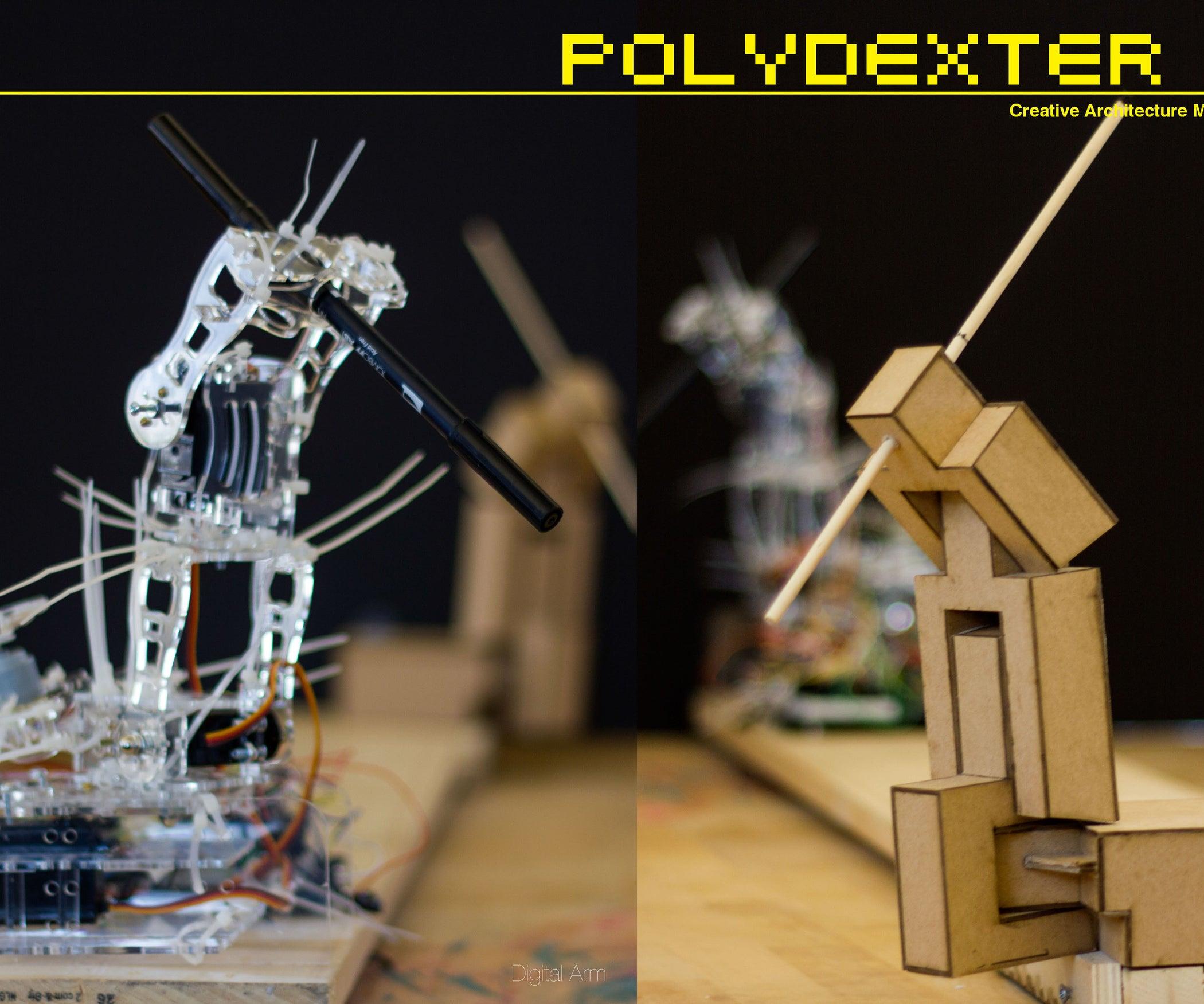 Polydexter: Arduino Robotic Translation Arm