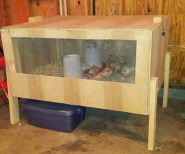 Build a brooder for your chicks