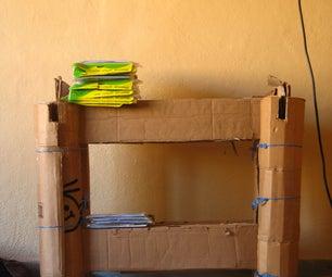 Modular Cardboard Bookshelves V.1