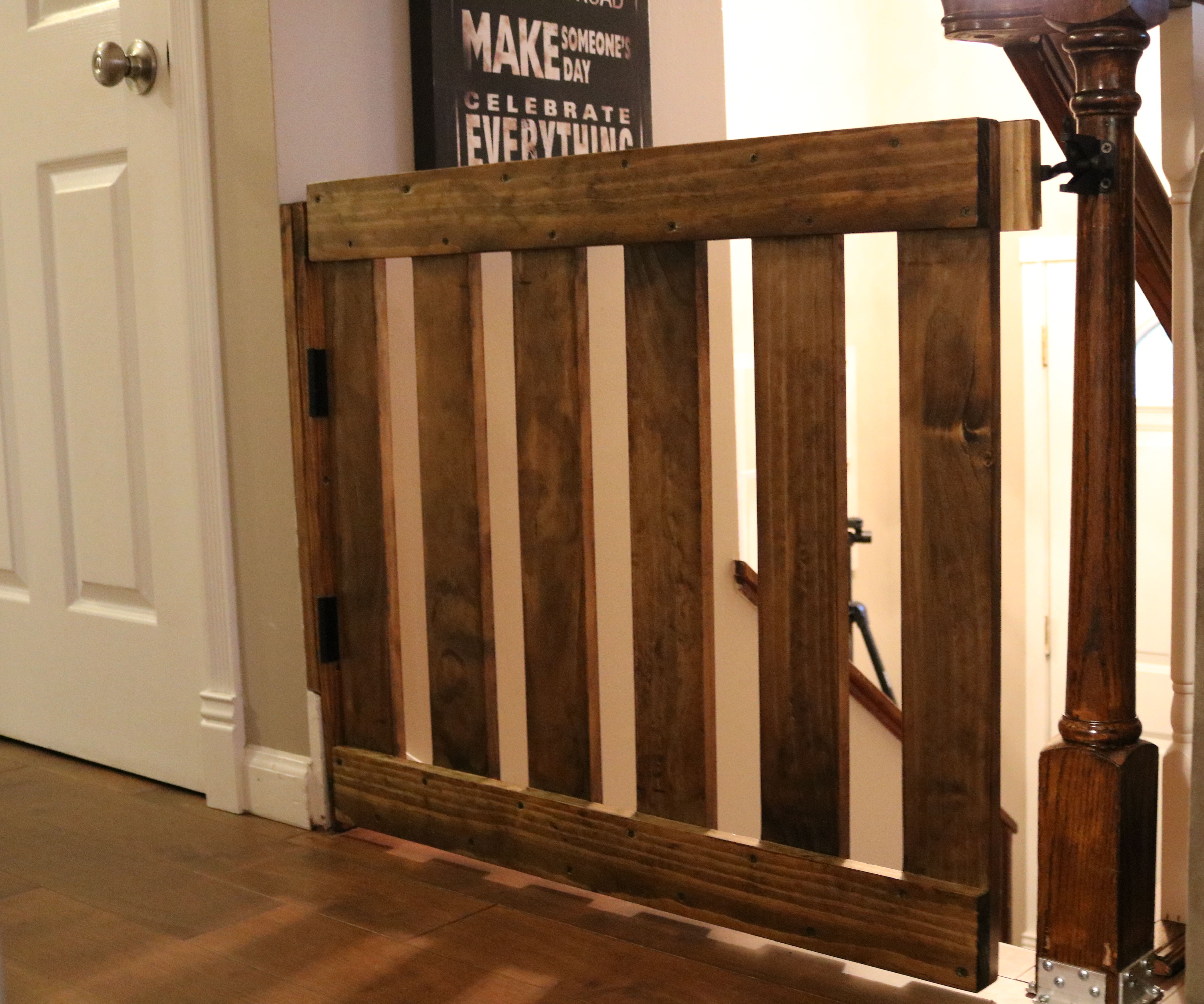 Diy Baby Gate 6 Steps With Pictures