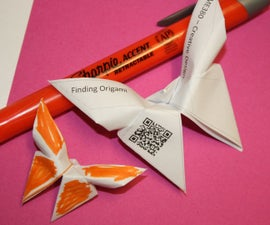 QRigami! QR code Origami Flyers