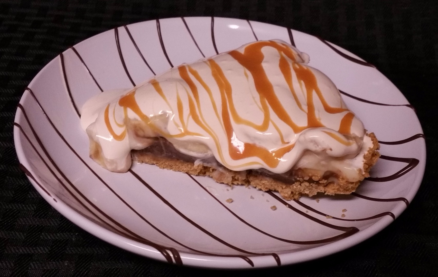 Picture of Chocolate Banana Caramel Pie