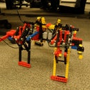 Quadroped Robot - (NIOSII Assembly)