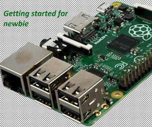 Raspberry PI-Getting Started for Newbie