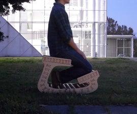 handmade balans chair