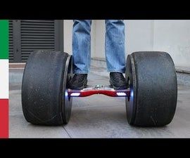 Hoverboard With Formula Tires