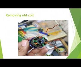 Rewinding a Brushless Motor