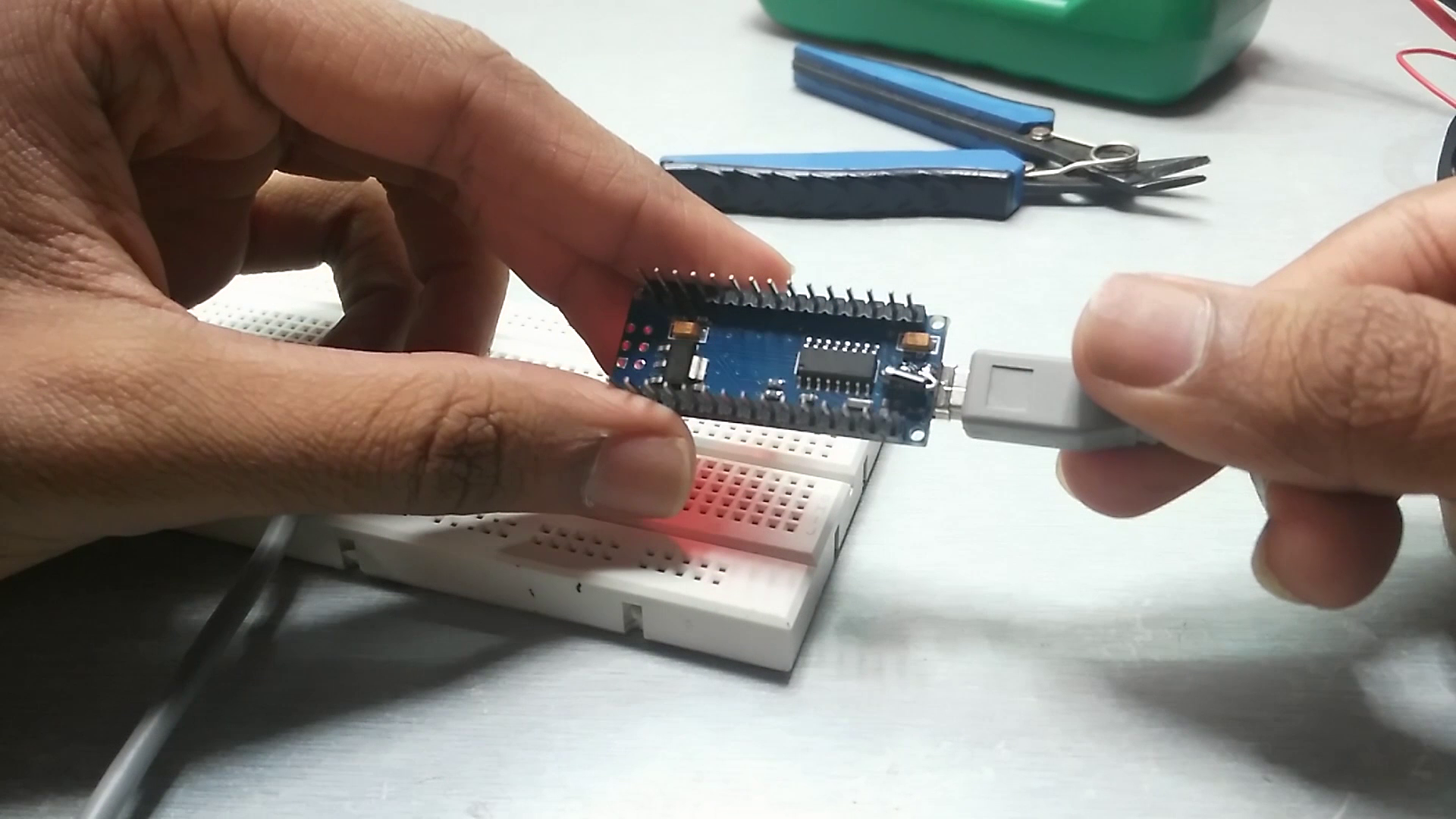 Picture of Soldering !