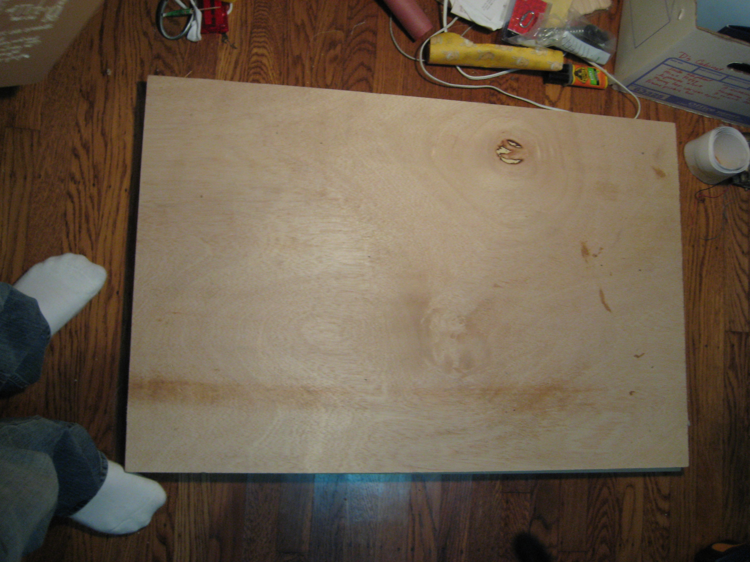 Picture of Prepare the Tabletop