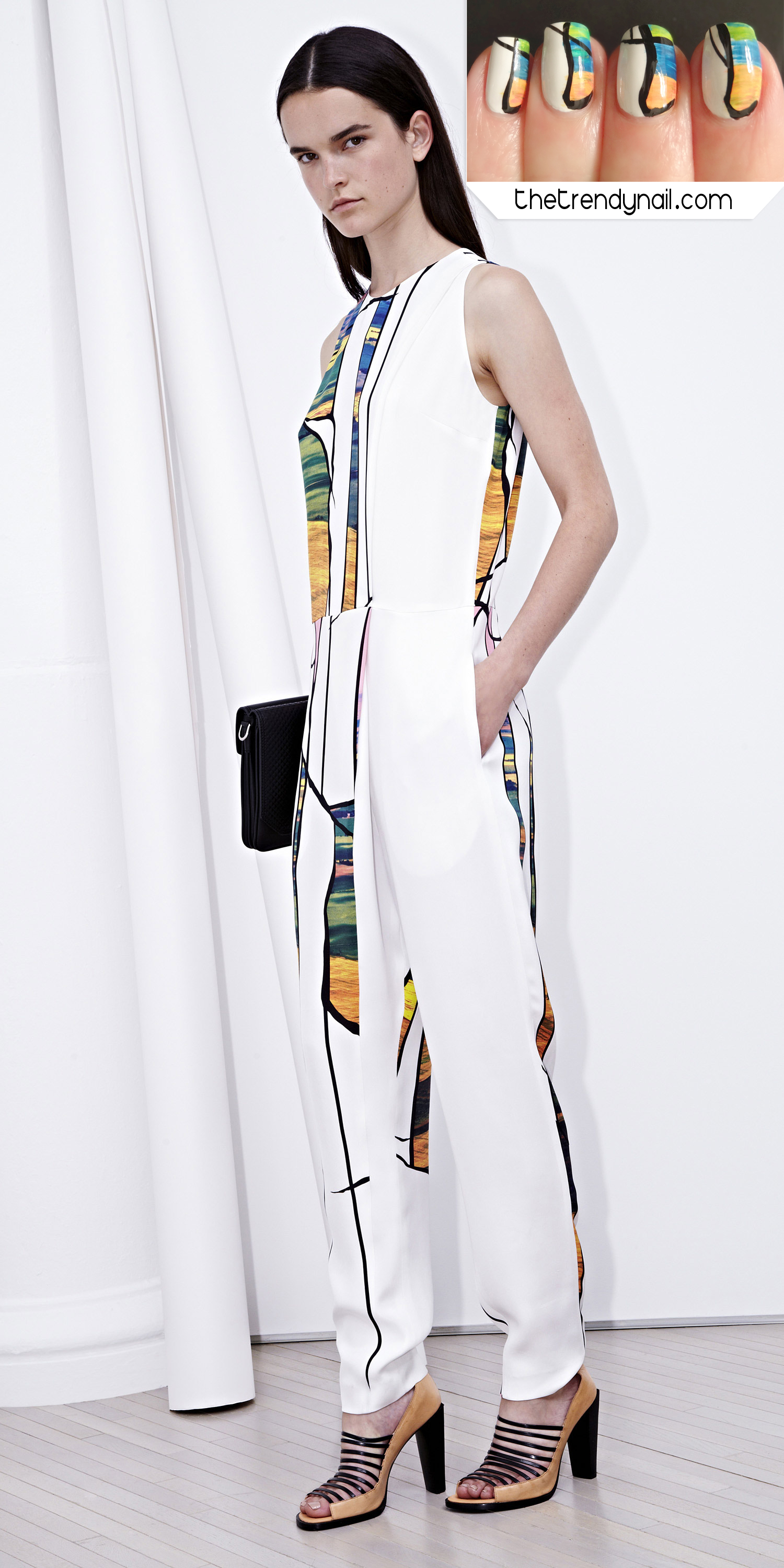 Picture of Mani Muse: 3.1 Phillip Lim Resort 2014 Nail Art