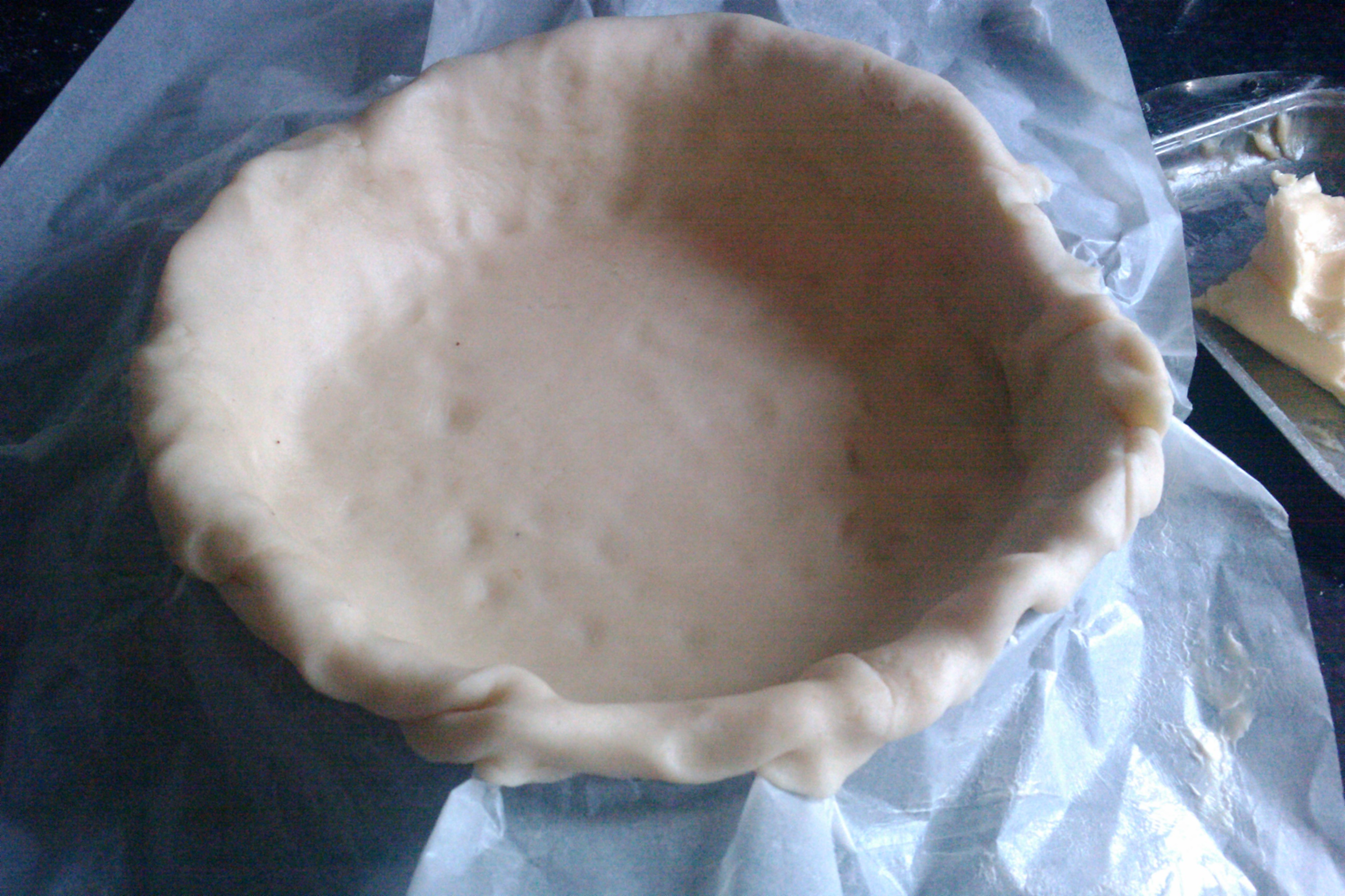 Picture of Making the Pie Crust