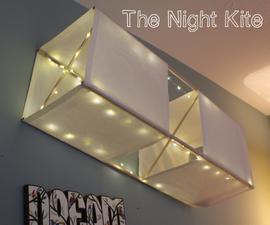 The Night Kite - A Glowing Box Kite