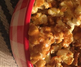Gluten Free Maple Pecan Popcorn