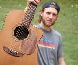 How to Make a Guitar Pickguard