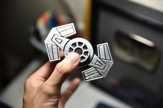 DIY Motorized Fidget Spinner! (Contest Entry)