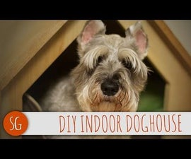 DIY - Indoor Doghouse on the Cheap!