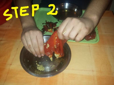 Peeling the Grilled Peppers, and Percolation