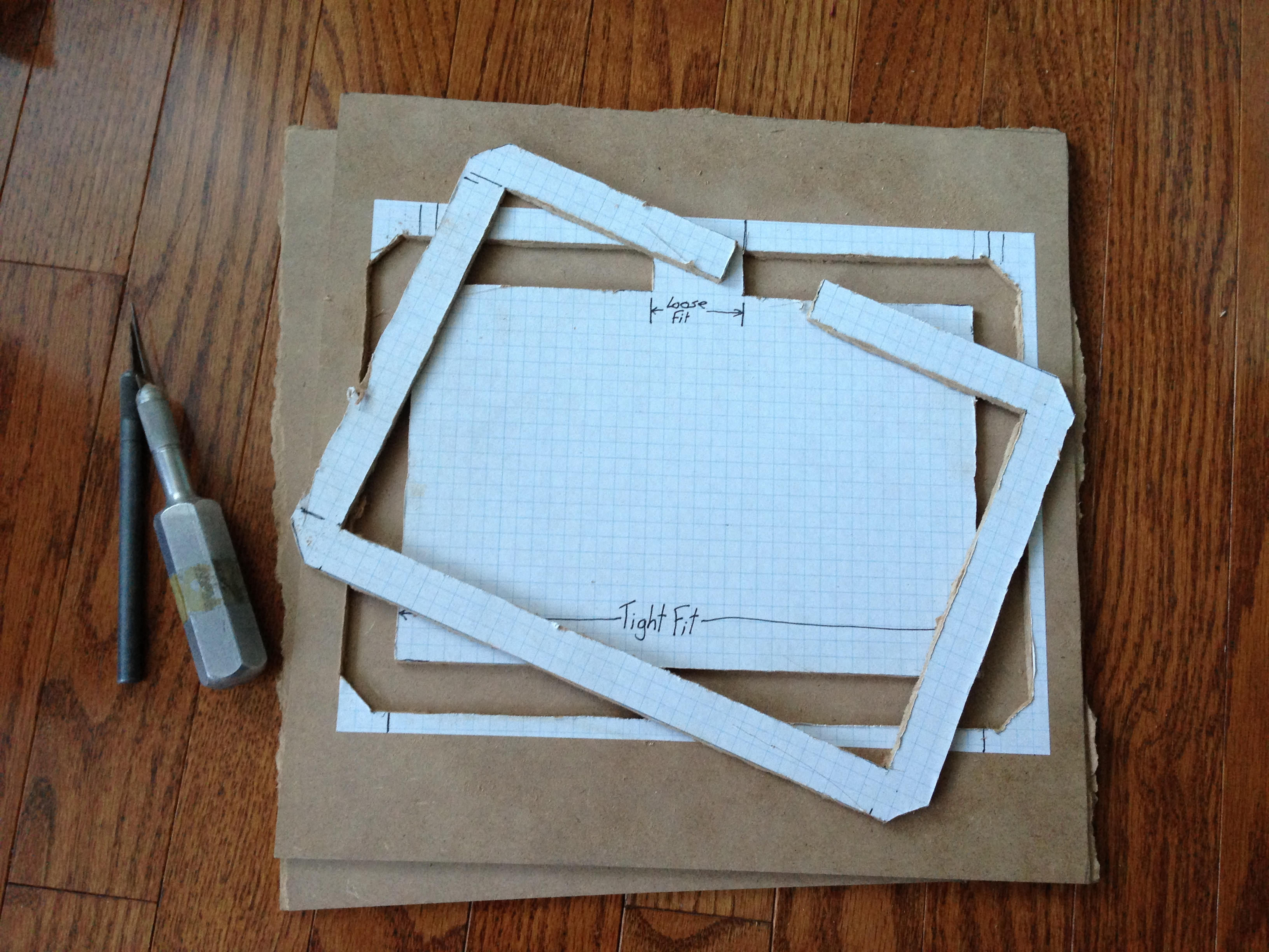 Picture of Cut Out Frame; Keep Outline Intact